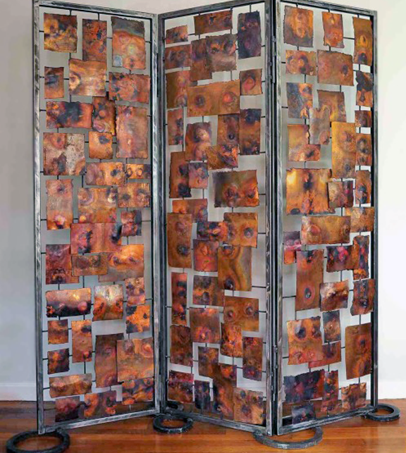 Marie Suri Custom Metal Decorative Screens Room Divider